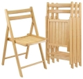 Rental store for NATURAL WOOD SLATTED CHAIR in Columbia SC