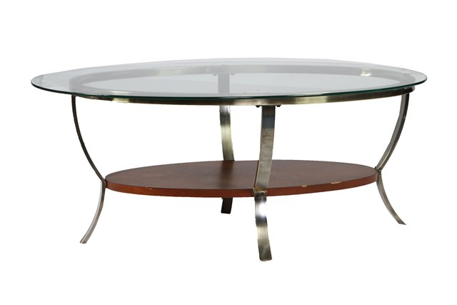 Where To Find TABLE OVAL GLASS BRONZE COFFEE TABLE In Columbia