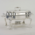 Rental store for 7 QT SERPENTINE SILVER CHAFING DISH in Columbia SC